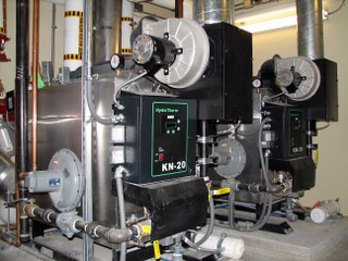 High-Efficiency Condensing Boilers
